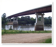 Bridge in Sterlington, Louisiana